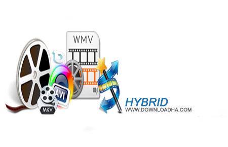 Hybrid1 دانلود نرم افزار تبدیل فایل های صوتی و تصویری Hybrid 2015.02.08.1