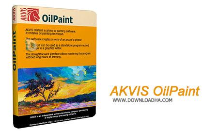 AKVIS OilPaint نرم افزار تبدیل عکس به نقاشی AKVIS OilPaint 4.0.436.11981   نسخه Mac