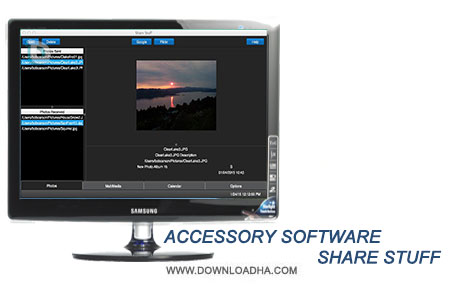 Accessory Software Shar نرم افزار اشتراک گذاری عکس Accessory Software Share Stuff 2.0