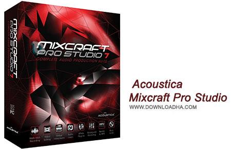 Acoustica Mixcraft Pro Studio نرم افزار ویرایش فایل های صوتی Acoustica Mixcraft Pro Studio 7.1.276