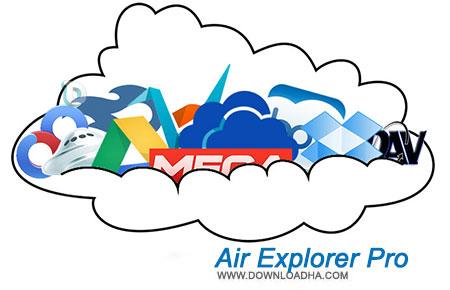 Air Explorer Pro نرم افزار مدیریت فایل های ذخیره سازی ابری Air Explorer Pro 1.3.2