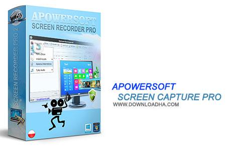 Apowersoft Screen Capture Pro نرم افزار عکس برداری از محیط ویندوز Apowersoft Screen Capture Pro 1.1.9 Build 06.25.2015