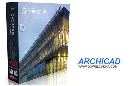 ArchiCAD نرم افزار طراحی ساختمان ArchiCAD 18 Build 6000   نسخه مک