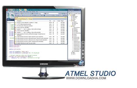 Atmel Studio نرم افزار برنامه نویسی Atmel Studio 6.2 SP2