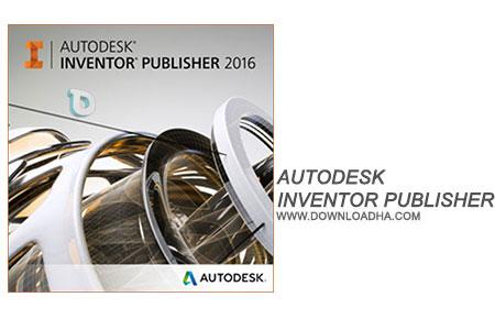 Autodesk Inventor Publisher نرم افزار طراحی قطعات صنعتی Autodesk Inventor Publisher 2016