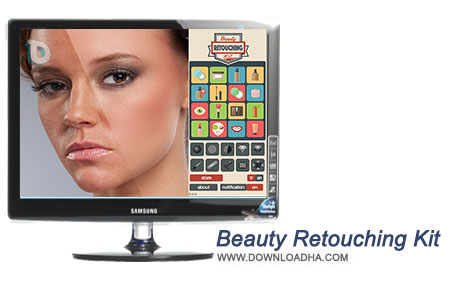 Beauty Retouching Kit پلاگین ویرایش چهره Beauty Retouching Kit 3.0 for Photoshop CS6   CC 2015  نسخه Mac