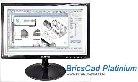 BricsCad Platinium نرم افزار نقشه کشی BricsCad Platinium 15.3.05