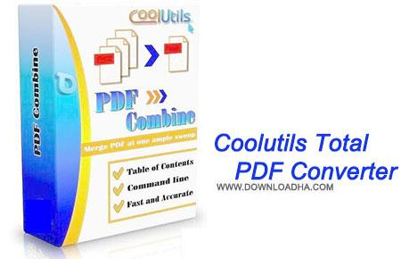 Coolutils Total PDF Converter مبدل فایل های نوشتاری PDF با Coolutils Total PDF Converter 5.1.63