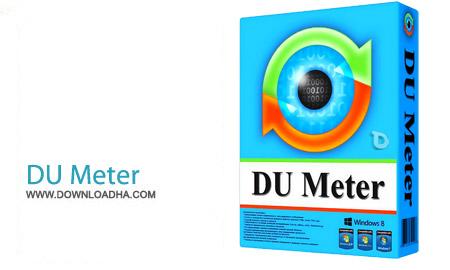 DU Meter نرم افزار کنترل مصرف پهنای باند DU Meter 7.08 Build 4749