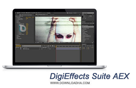 DigiEffects Suite AEX پلاگین افکت های ویدیویی DigiEffects Suite AEX v3.0.2 CE