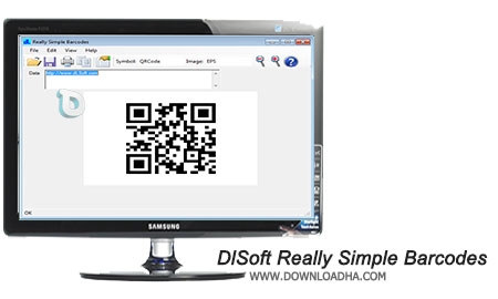 DlSoft Really Simple Barcodes نرم افزار ساخت انواع بارکد DlSoft Really Simple Barcodes 5.0