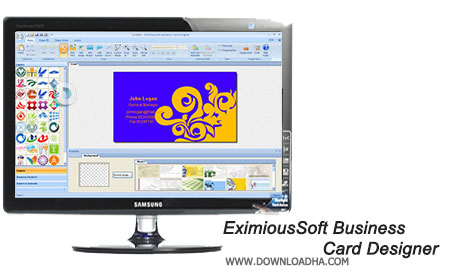 EximiousSoft Business Card Designer طراحی کارت ویزیت توسط EximiousSoft Business Card Designer 5.02
