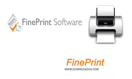 FinePrint مدیریت در چاپ با نرم افزار FinePrint 8.30