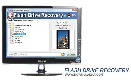 Flash Drive Recovery نرم افزار بازیابی فایلهای پاک شده Flash Drive Recovery 2.0