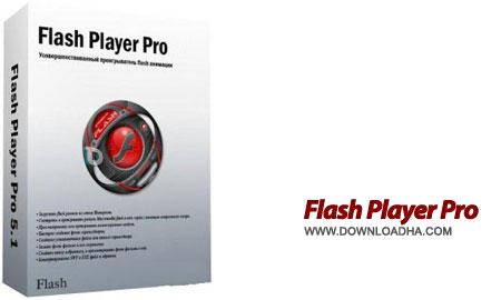 Flash Player pro نمایش،دانلود و مدیریت فایل های فلش Flash Player Pro 6.0 DC 12.07.2015
