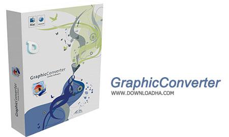 GraphicConverter تبدیل فرمت،ویرایش و مدیریت تصاویر GraphicConverter 9.7.1 build 2045   نسخه Mac