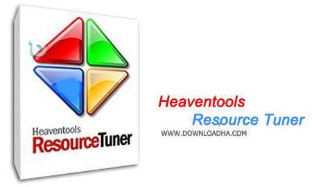 Heaventools Resource Tuner ویرایش فایل های EXE یا DLL با  Heaventools Resource Tuner 2.04