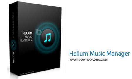 Helium Music Manager نرم افزار مدیریت و پخش آهنگ ها Helium Music Manager 11.2.0 Build 13510