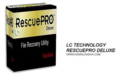 LC Technology RescuePRO Deluxe نرم افزار بازیابی اطلاعات LC Technology RescuePRO Deluxe 5.2.5.4