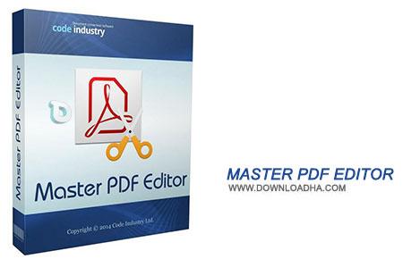 Master PDF Editor نرم افزار مدیریت فایل های PDF با Master PDF Editor 3.2.11