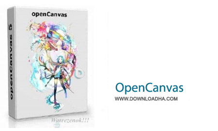 OpenCanvas نرم افزار طراحی و نقاشی OpenCanvas 6.0.13