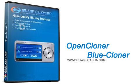 OpenCloner Blue Cloner  کپی دیسک های بلوری با OpenCloner Blue Cloner 5.70 Build 709