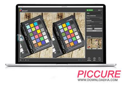 Piccure پلاگین بازسازی تصاویر با Piccure+ 2.5.0.62   نسخه Mac
