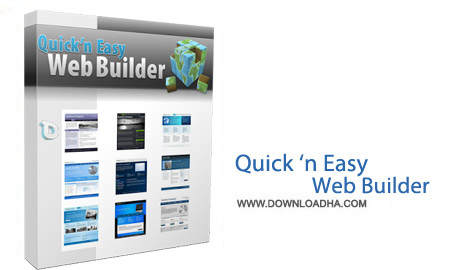 Quick Easy Web Builder نرم افزار طراحی سایت Quick n Easy Web Builder 3.0.4