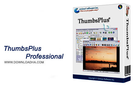 ThumbsPlus Professional نرم افزار ویرایش تصاویر ThumbsPlus Professional 10.0 Build 4001