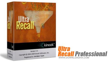 Ultra Recall Professional ثبت عملیات روزمره ویندوز با Ultra Recall Professional 5.2