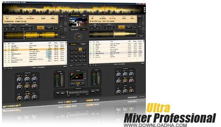 UltraMixer Professional نرم افزار میکس حرفه ای موزیک با UltraMixer 5.0.2 Pro Entertain