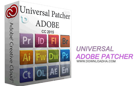 Universal Adobe Patcher نرم افزار کرک نرم افزار ها Universal Adobe Patcher 1.5 with Update Management Tool