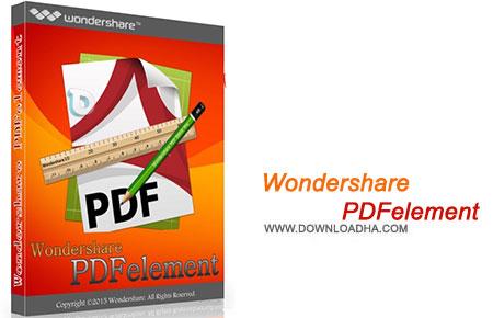 Wondershare PDFelement نرم افزار ایجاد و ویرایش فایل های پی دی اف Wondershare PDFelement 5.5.0.8 with OCR Plugin