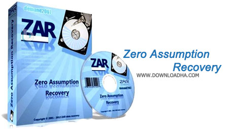 Zero Assumption Recovery بازیابی فایل های از بین رفته با Zero Assumption Recovery 10.0.62 4