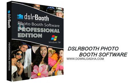 dslrBooth Photo Booth Software نرم افزار ویرایش عکس و ساخت غرفه dslrBooth Photo Booth Software 4.6.28.1 Professional