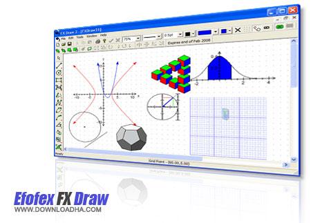 efofex طراحی پیشرفته اشکال هندسی متحرک با Efofex FX Draw 5.008.4