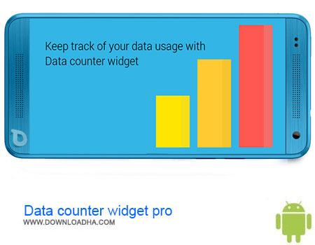 Data counter widget pro دانلود برنامه Data counter widget pro v2.0.4   اندروید