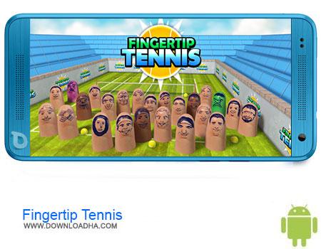 Fingertip Tennis دانلود برنامه Fingertip Tennis v1.3   اندروید