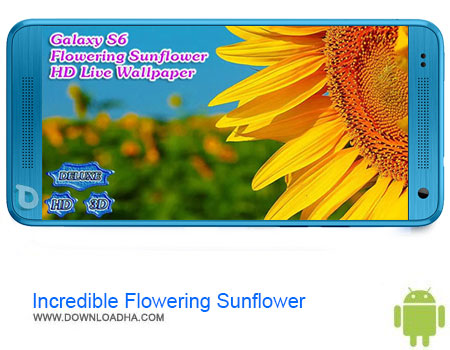 Incredible Flowering Sunflower دانلود برنامه Incredible Flowering Sunflower v1.3.8   اندروید