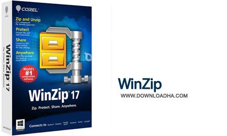 WinZip Pro 17 نرم افزار فشرده سازی فایل ها WinZip Pro 19.5 Build 11475 Final