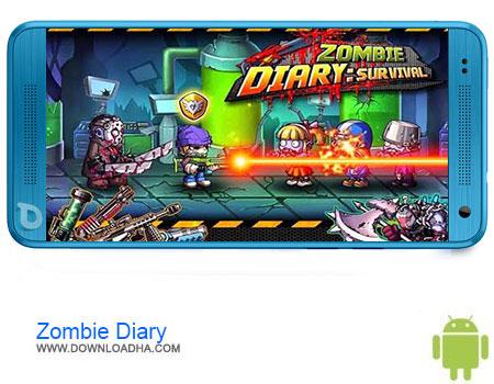Zombie Diary دانلود برنامه Zombie Diary v1.2.5   اندروید