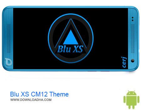 Blu XS CM12 Theme دانلود برنامه Blu XS CM12 Theme v0.3.7   اندروید