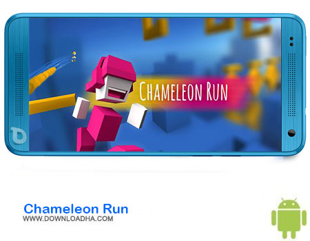 Chameleon Run دانلود بازی Chameleon Run  اندروید