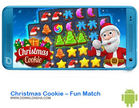 Christmas Cookie Fun Match دانلود بازی Christmas Cookie – Fun Match  اندروید