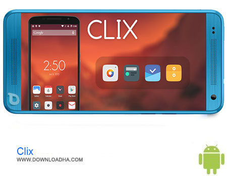 Clix Launcher Theme دانلود تم Clix – Launcher Theme v1.0   اندروید