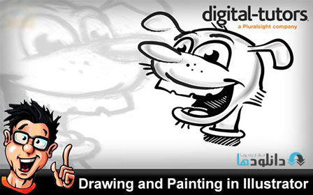 DT Drawing.and .Painting.in  دانلود فیلم آموزشی Digital Tutors – Drawing and Painting in Illustrator