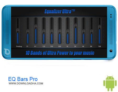 EQ Bars Pro دانلود برنامه EQ Bars Pro – Audio Spectrum v1.1   اندروید