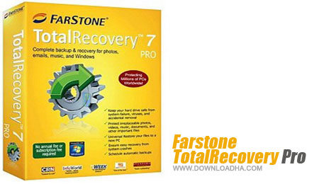 Farstone TotalRecovery Pro محافظت و ریکاوری فایل ها با Farstone TotalRecovery Pro 10.5.3