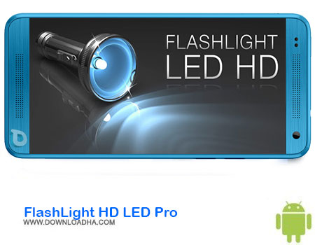 FlashLight HD LED Pro دانلود برنامه FlashLight HD LED Pro v1.89.0   اندروید