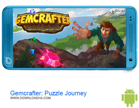 Gemcrafter Puzzle Journey دانلود بازی Gemcrafter: Puzzle Journey v1.1.2   اندروید